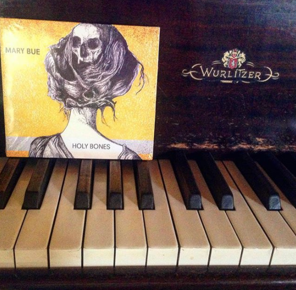 Mary Bue Music Holy Bones on Piano Album